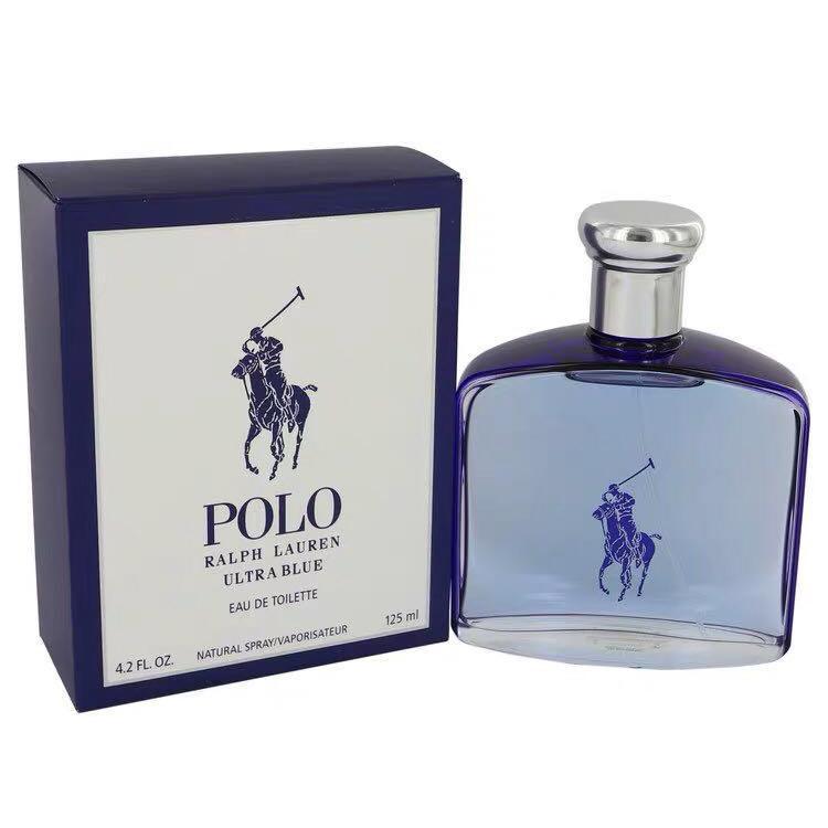 bde13cdb9 Ralph Lauren Polo Blue Eau de Toilette for Men 125ml(AUTHENTIC OVERRUN  PERFUME FROM ORIGINAL