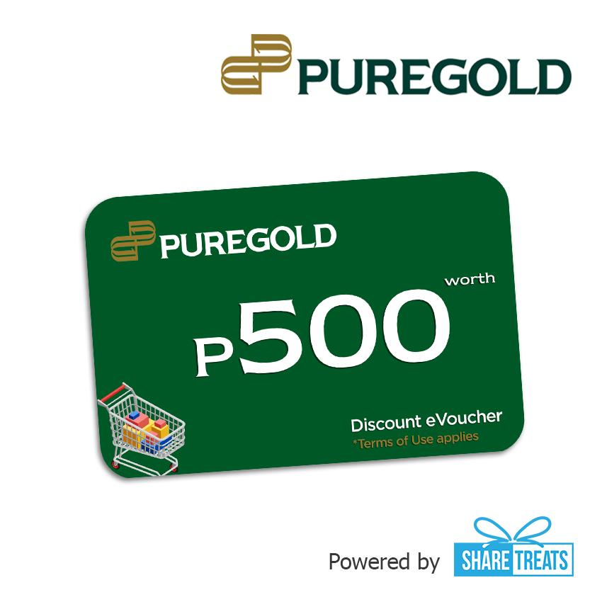 Puregold Php500 Worth (sms Evoucher) By Share Treats.