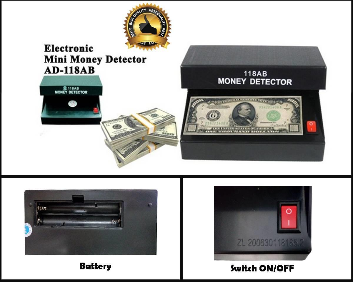 110-220V UV Lamp Money Detector Portable Counterfeit Money Checker 4w EU Plug with ON/OFF Switch Cash Tester High Quality