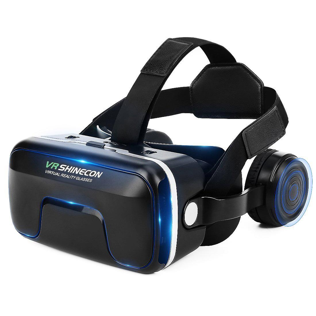 ETVR 3D VR Box Glasses Virtual Reality Headset for 3D Movies & VR Games with Stereo
