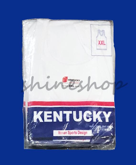 Kentucky White Sando For Adult (set Of 2) By Shineshop999.