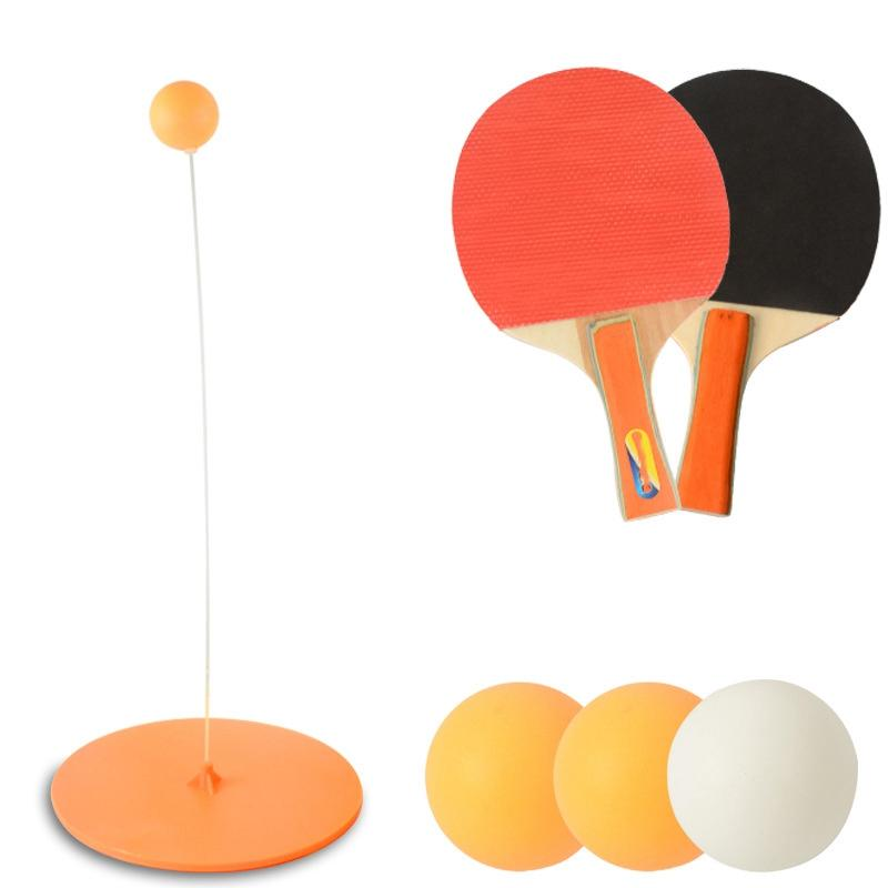 Bảng giá Childrens Table Tennis Trainer Toy Elastic Soft Shaft Single Double Pair Exercise Sports Equipment