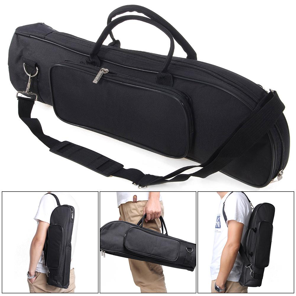 Wangwang Waterproof Trumpet Bag Double Zippers Design Storage Case By Wangwang Store.