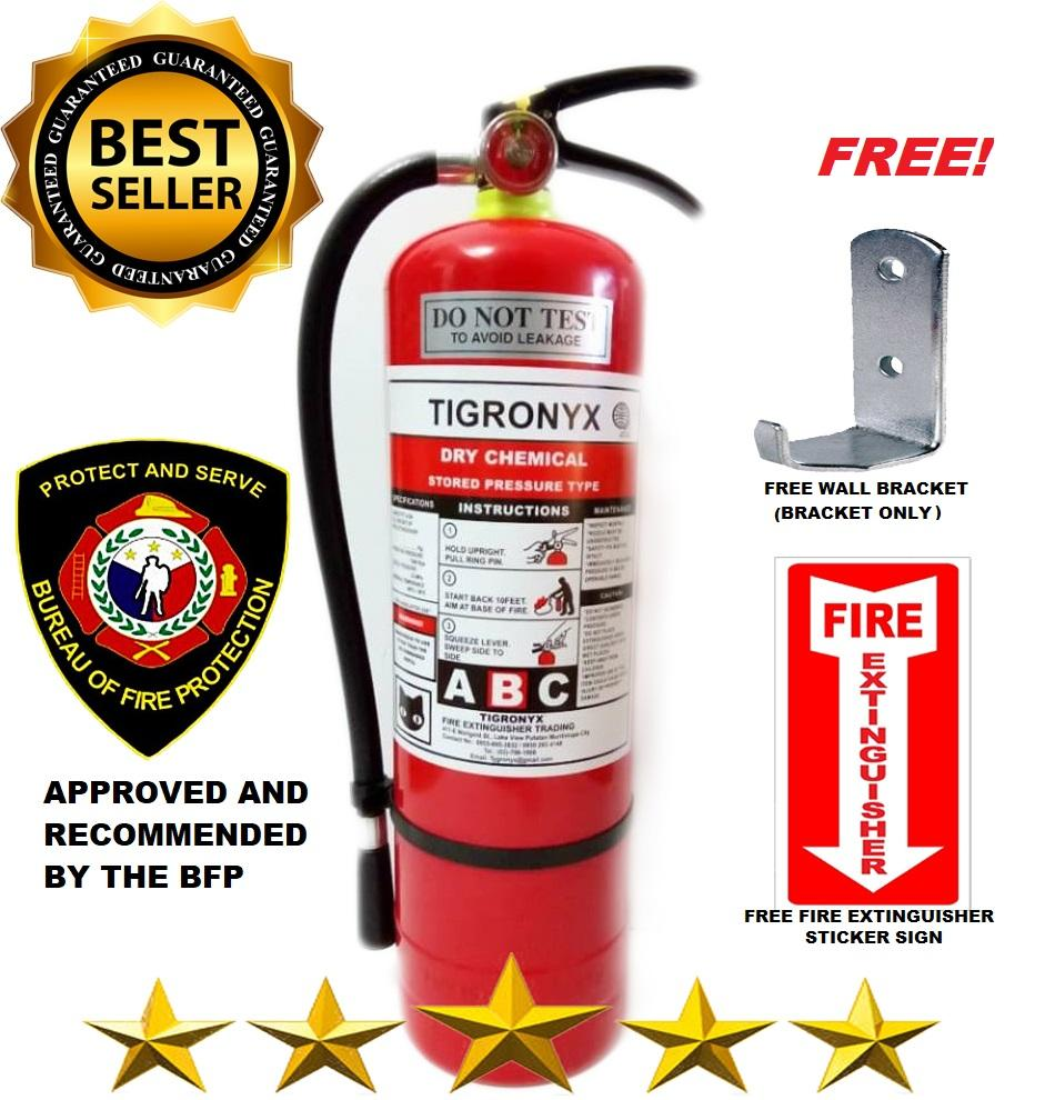 Tigronyx Fire Extinguisher 10lbs Abc Dry Chemical Refillable By Chadasan Fire Safety.