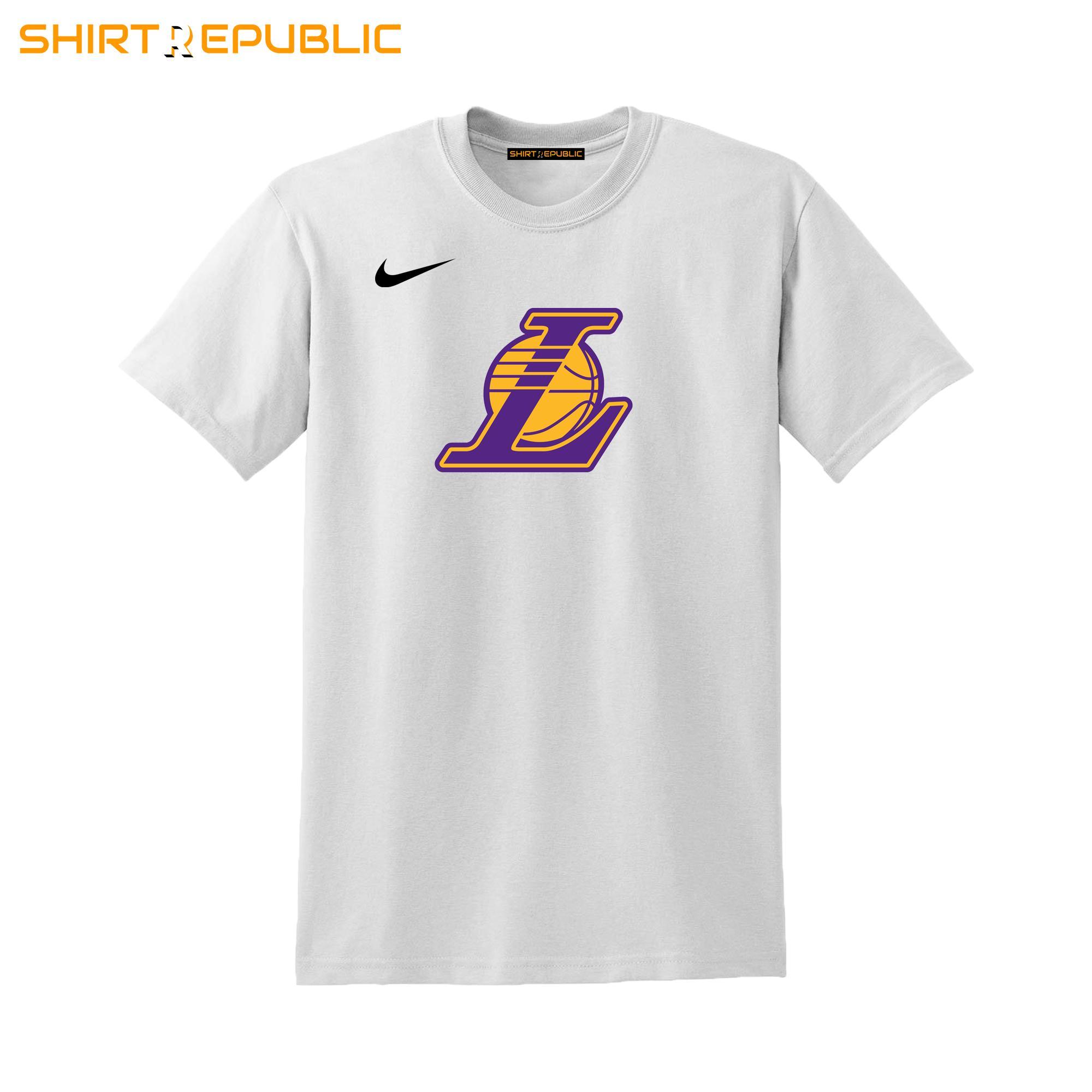 promo code f1dc0 0f9f4 Los Angeles Lakers Shirt / NBA T-Shirt (Premium Thick Cotton Tshirt) -  ShirtRepublic