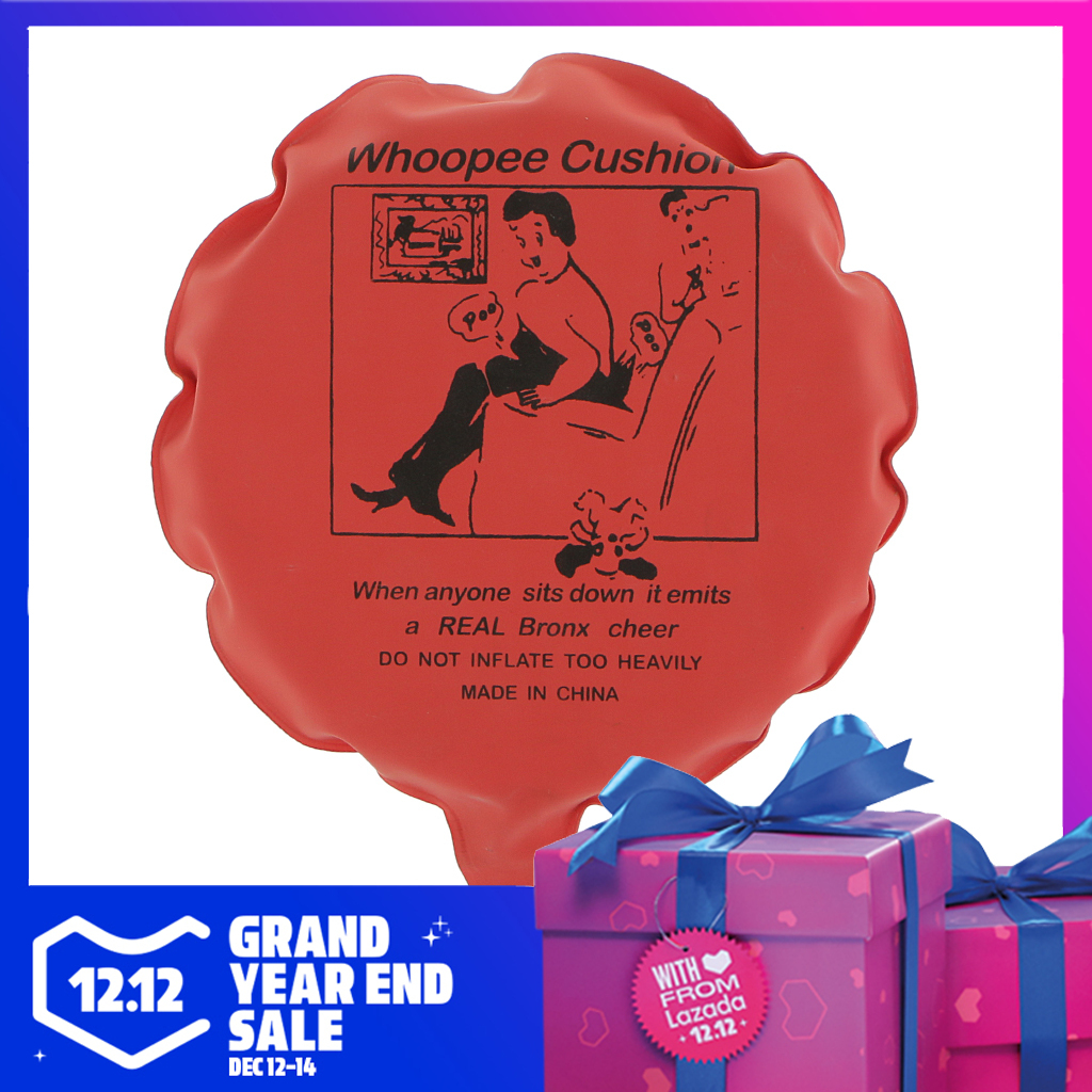 Fun Whoopee Cushion Fart Sounds Whoopie Prank Joke Toy Woopy Ballon Gag