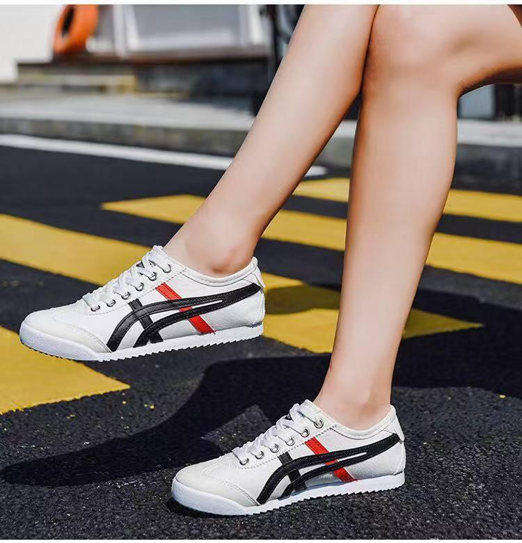 new product 349b5 48c9e classic Onitsuka tiger leather for women with box for fashion women