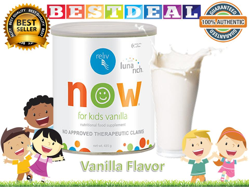 Reliv For Kids Now Vanilla Flavor 100% Authentic By Bestdeal O-Shopping.