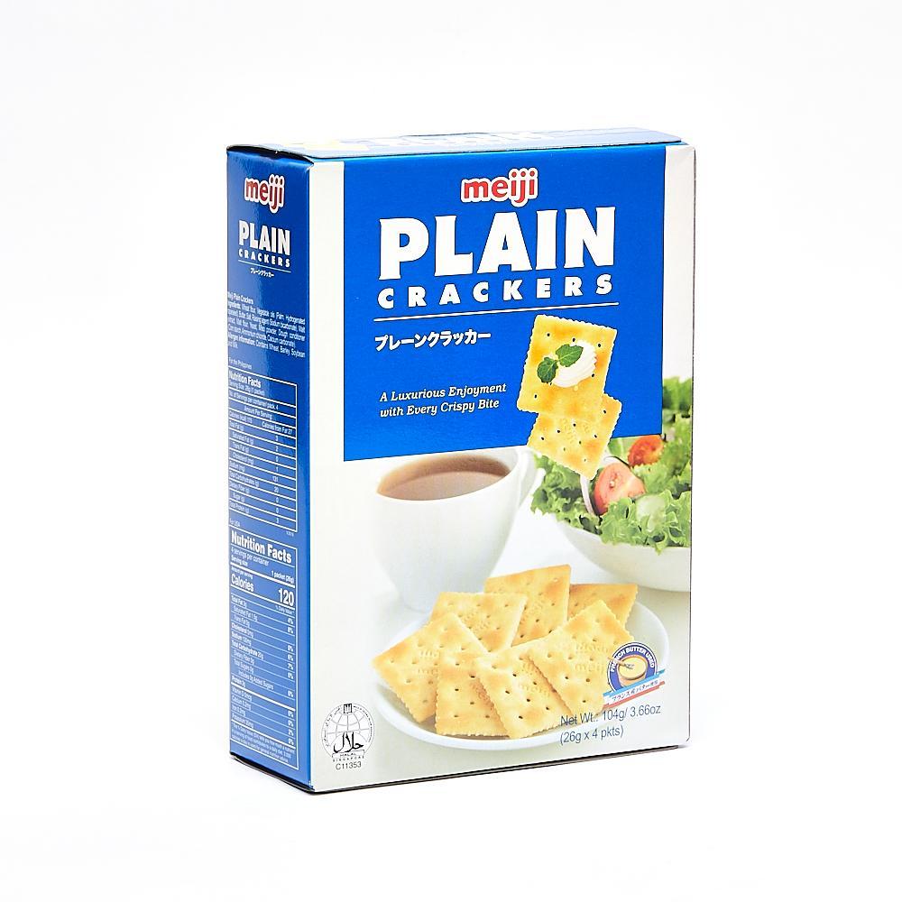 Meiji Plain Crackers 104 g