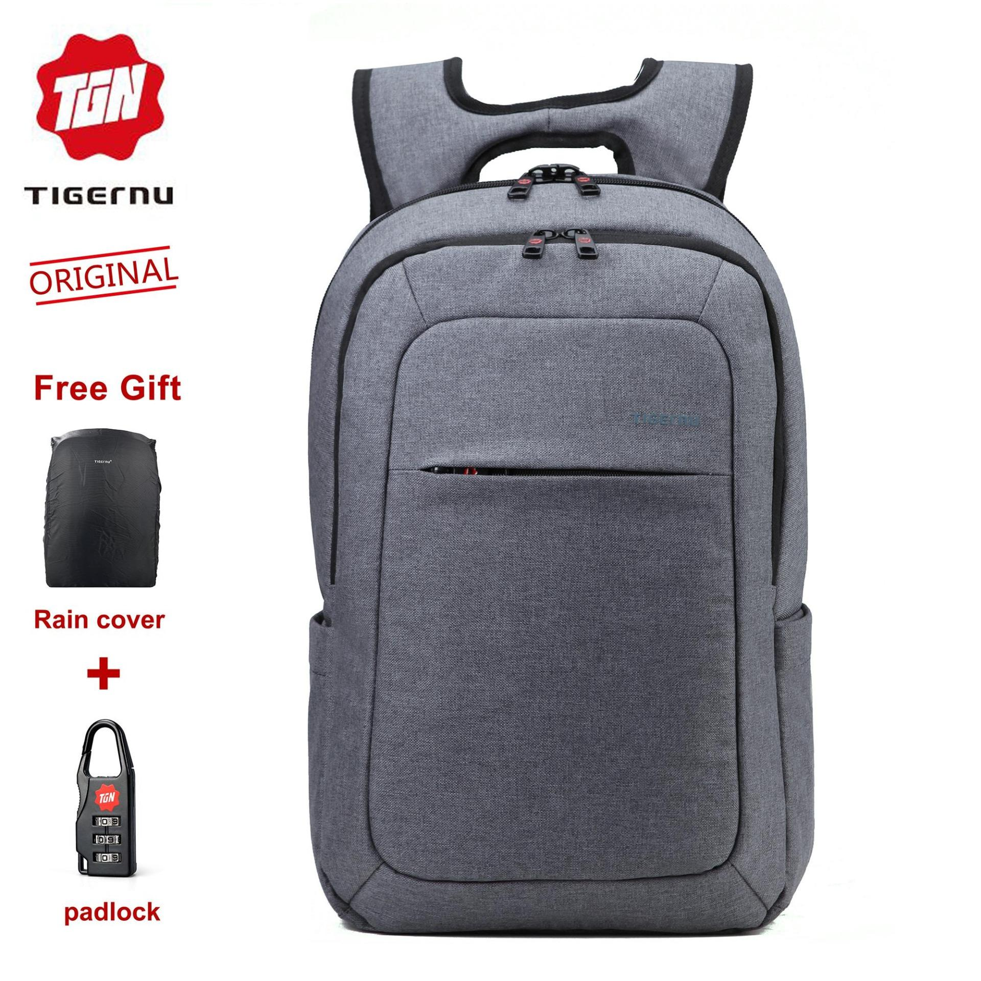9ede512e0c7 Philippines. 2018 Tigernu LAZADA Hot selling Anti-theft Splash proof  Fashion Travel Backpack Fit for 10.1