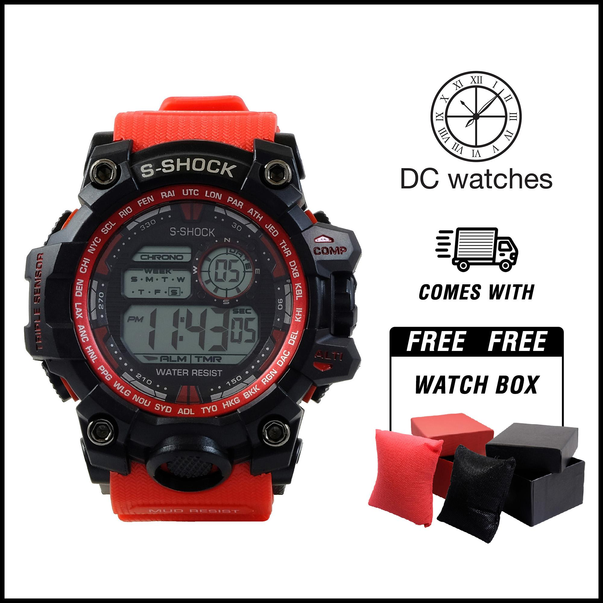 c62f17e5830 DC Watches S-shock World Time 9977 WATERPROOF watch for men watch for women  watches
