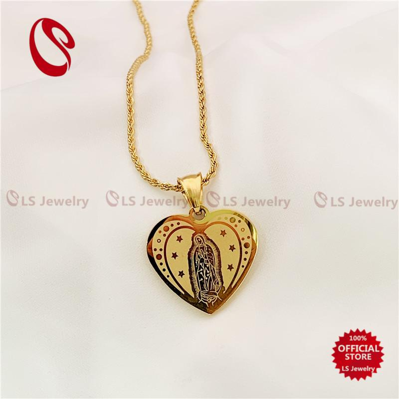 4f9b17cb87d8a LS Jewelry Stainless steel Gold Plated dragon Necklace N0159 N0127 N0124  N0093