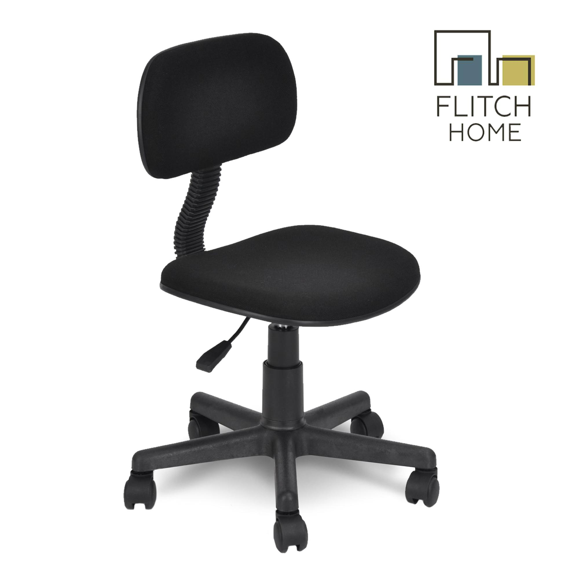 Pleasant Flitch Home Fh 120 Office Staff Chair Black Interior Design Ideas Clesiryabchikinfo