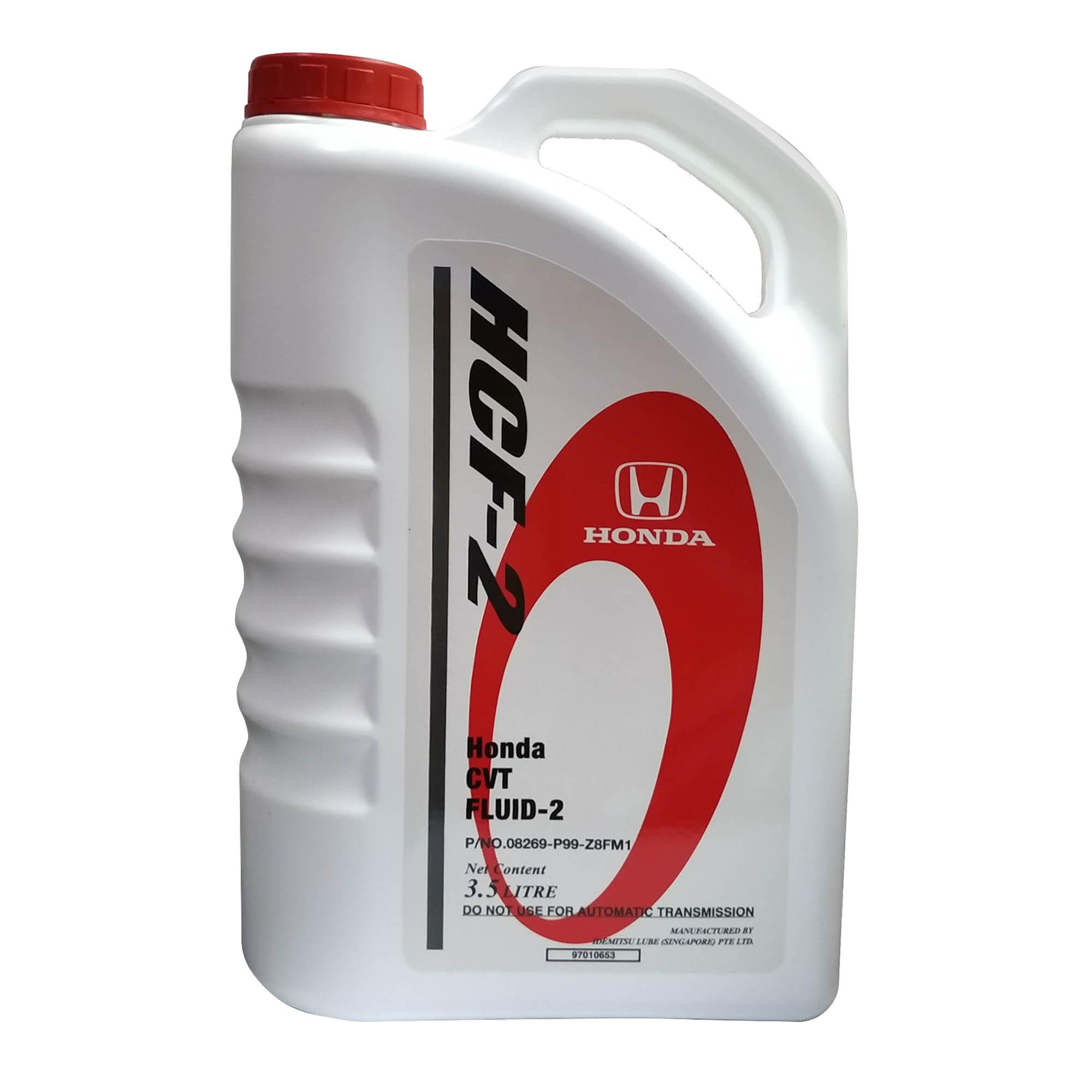 Honda Genuine HCF-2 CVT Transmission Fluid 3 5L