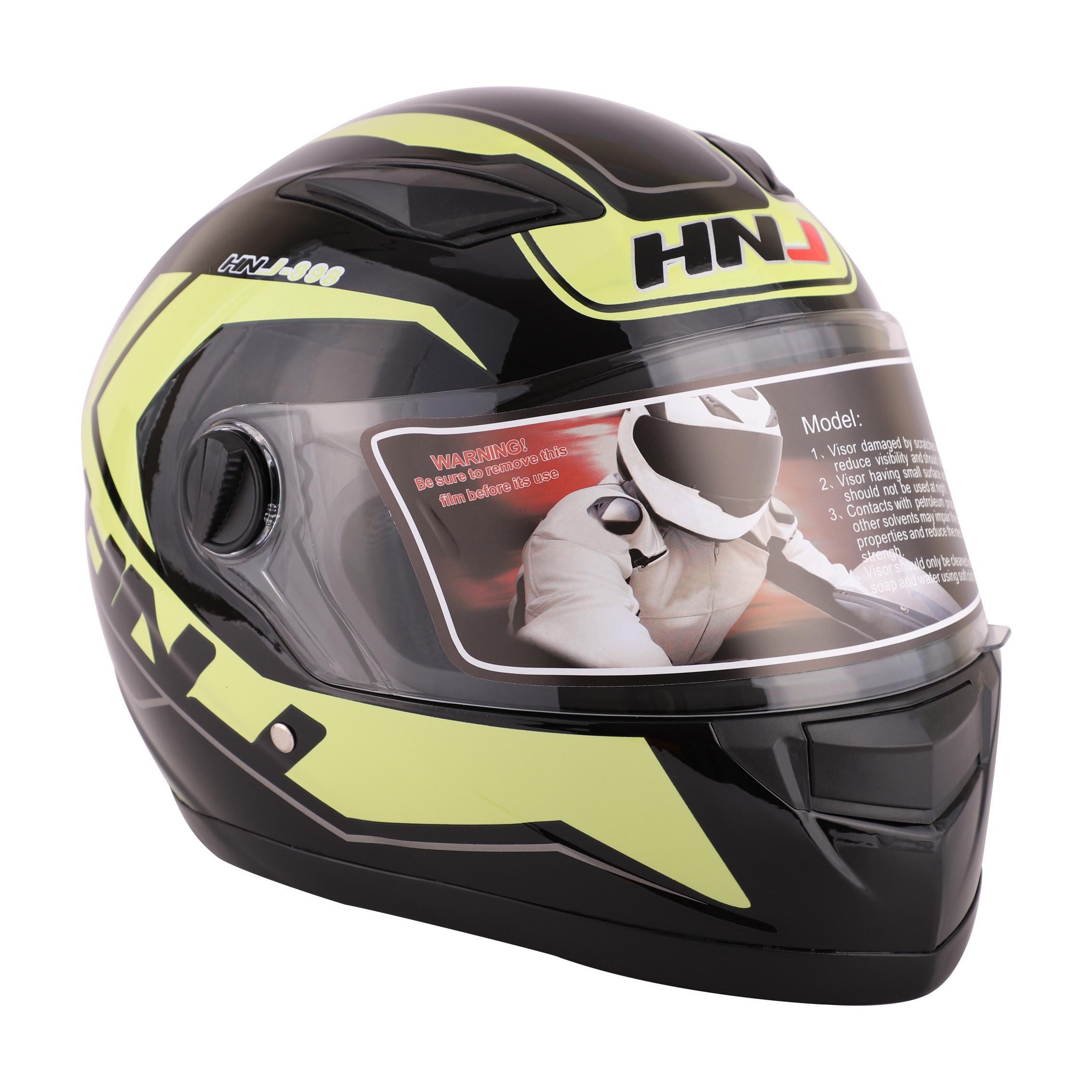 577a687d Product details of HNJ Helmets FF898 Clear Visor Full Face Motorcycle Helmet  Size:Large(59-60cm)