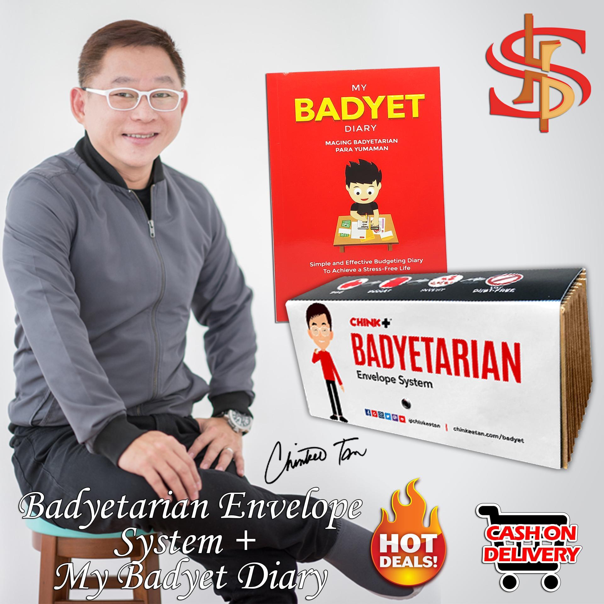 Badyetarian Envelope System + FREE My Badyet Diary book By Chinkee Tan