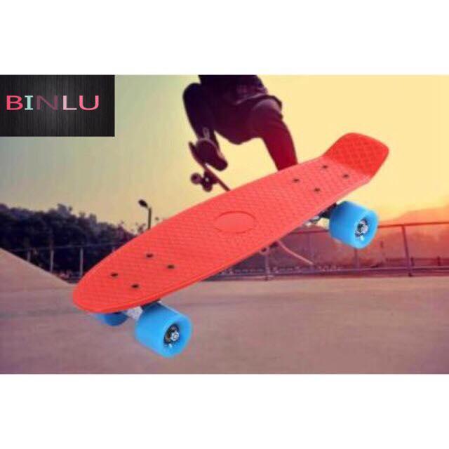 Four Wheel Penny Style Long Board Skateboard