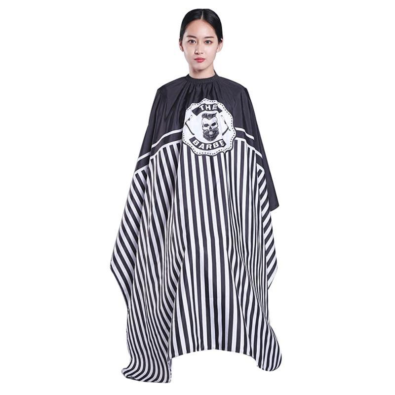 1Pc 160x145cm Hairdresser Capes Salon Barber Cutting Hair Waterproof Cloth Salon Barber Gown Cape Hairdresser Hair Dresser Wrap cao cấp