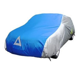 Deflector DCCB-S5-SB Car Cover for Sedan (Silver/Blue)