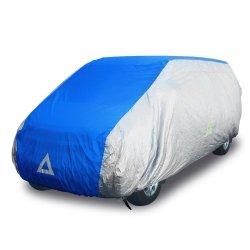Deflector DCCB-VAN1-SB Car Cover for Van (Silver/Blue)