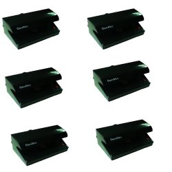 DENAKU DS30 Counterfeit Money Detector Set of 6 (Black)