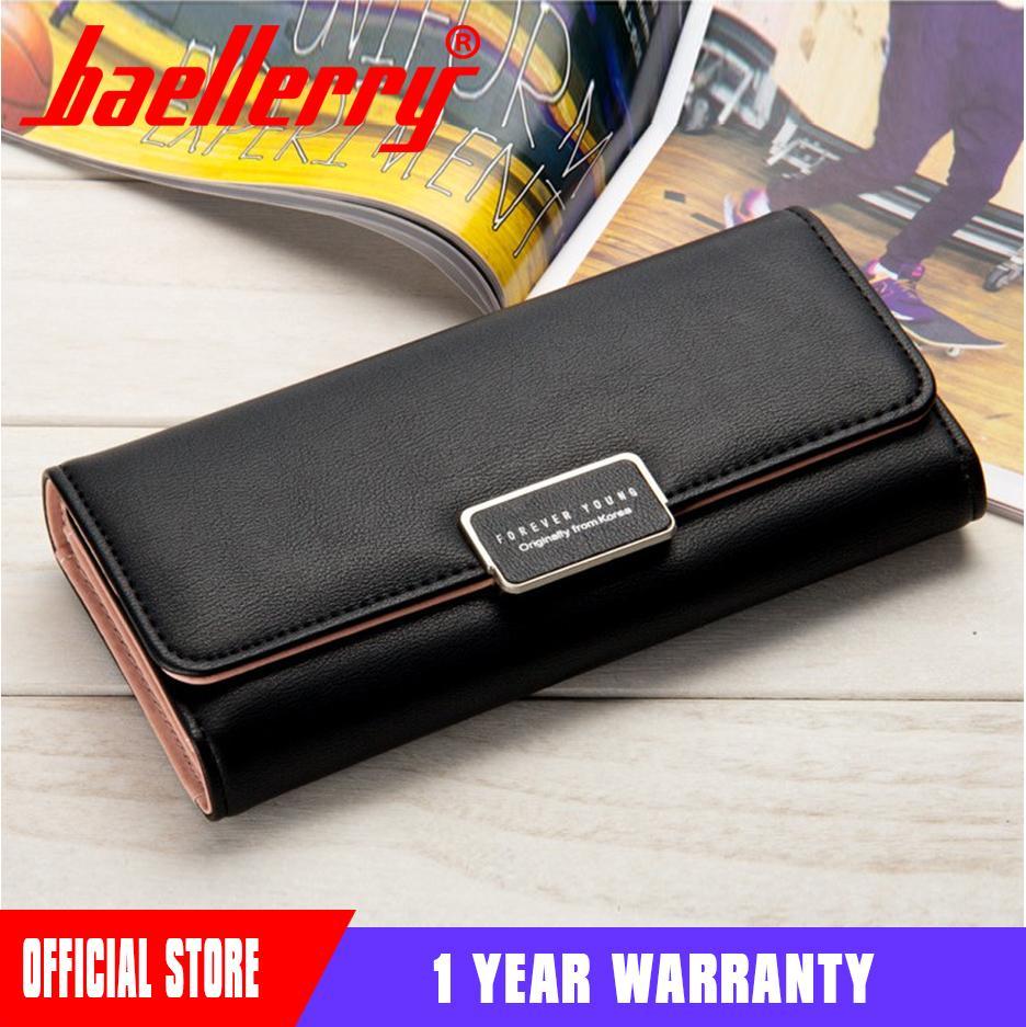 db6785dbec1 Baellerry 2018 Luxury Brand Lady Purse Women Long Wallet Large Capacity  Female Purses Clutch Bag Wallet