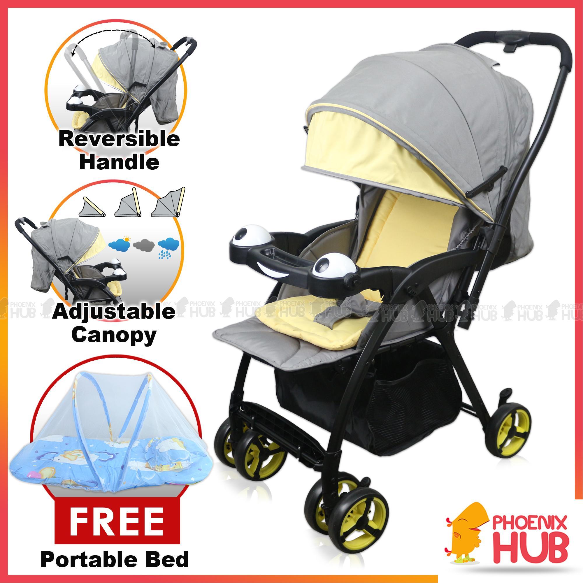 7e7d110e02 Phoenix Hub Baby Stroller Travel System HP-712 Pocket Stroller Pockit  Pushchair Food Tray High