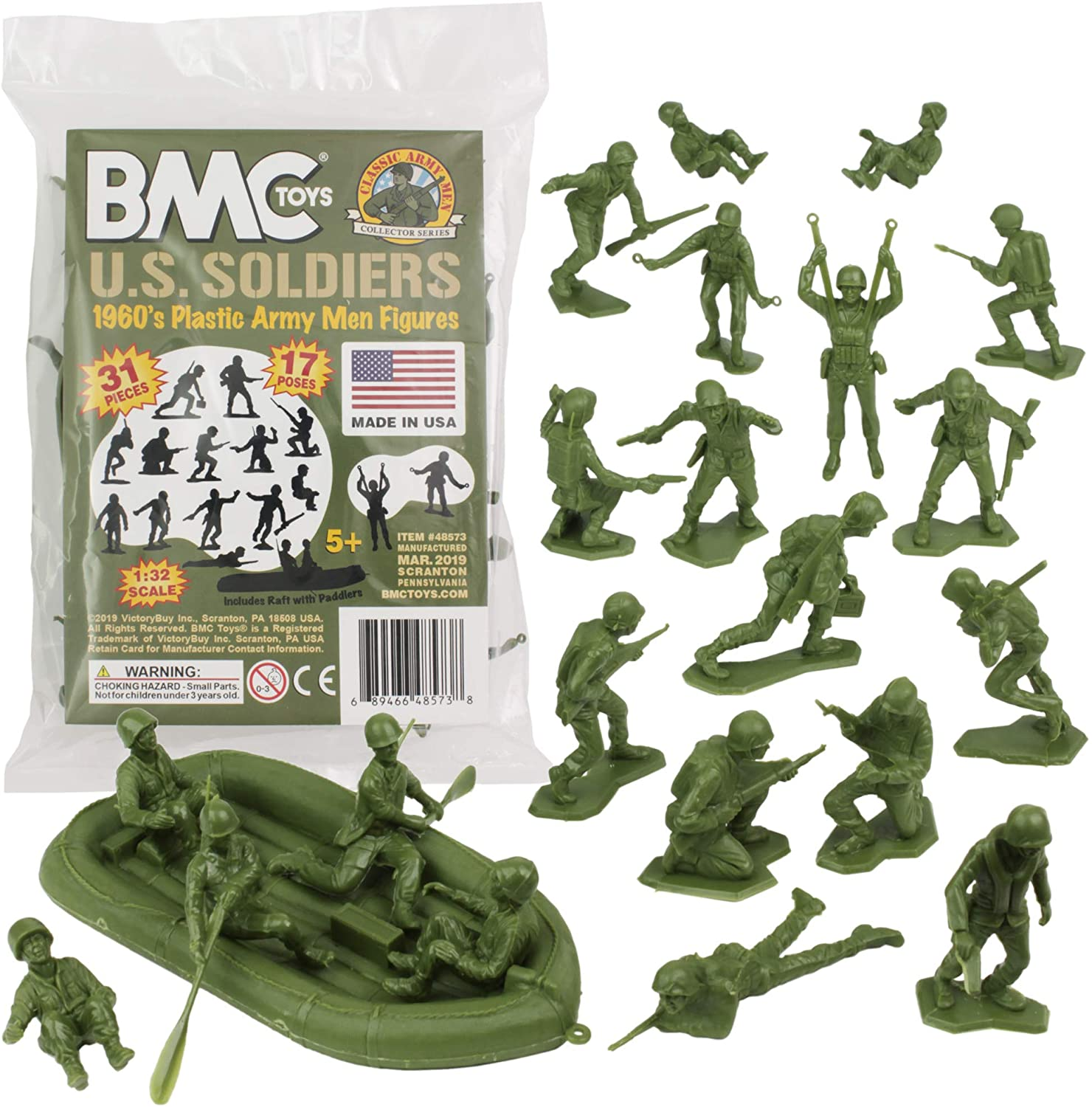 270 pcs Military Playset Plastic Toy Soldier Army Men 4cm Figures /&  US USA
