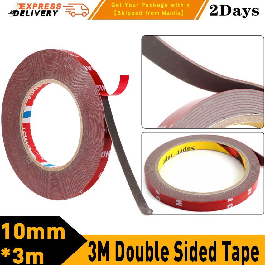 3m Double Sided Tape Adhesive Tape Acrylic Transparent No Traces Sticker For Led Strip Car Fixed Phone Tablet Fixed By George Global.