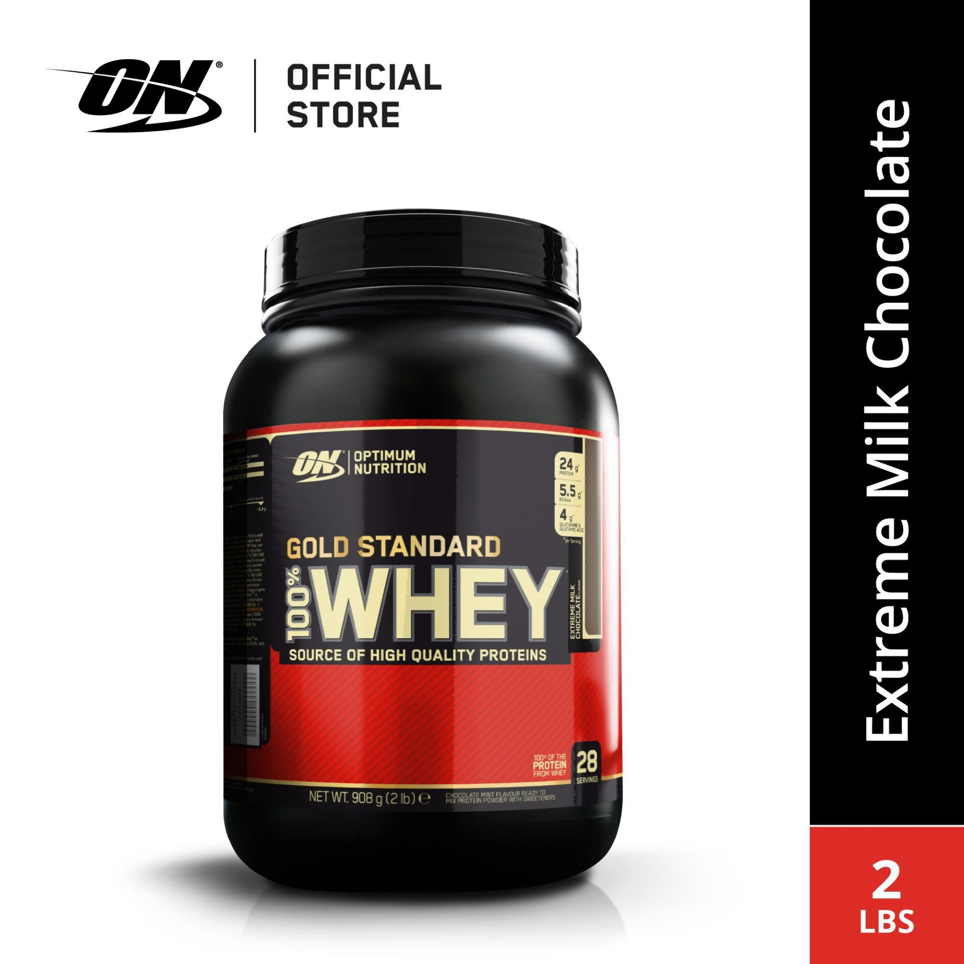 d8df12830 Optimum Nutrition Gold Standard Whey Protein 2 lbs - Extreme Milk Chocolate