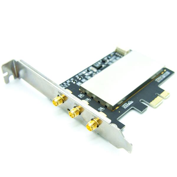 Giá for Broadcom Bcm94360CSAX Bcm943602CS Bcm94331CSAX WLAN Card Desktop PCI-E Converter Adapter + Antenna for Apple WiFi Card