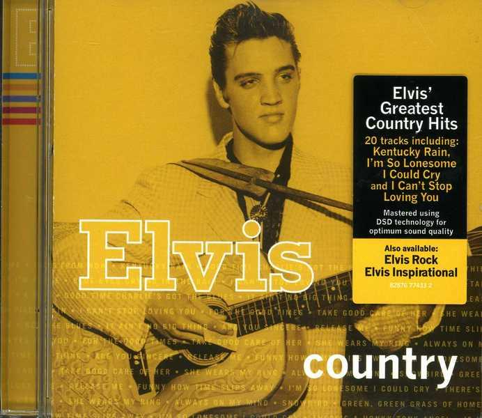 Elvis Greatest Country Hits (cd) By Cd Express Direct.