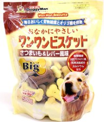 Doggyman Big Sweet Potal and Chicken Liver Pack