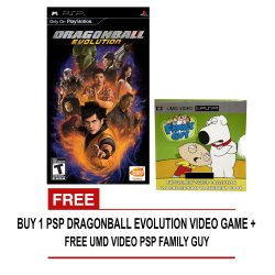 Dragon Ball Evolution for PSP with Free UMD Video PSP Family Guy