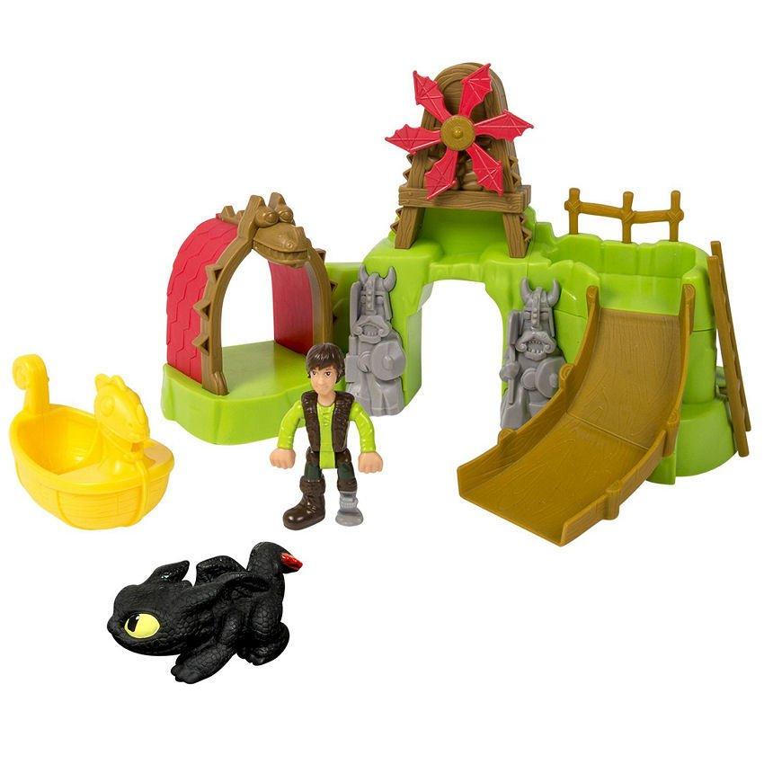 DreamWorks How To Train Your Dragon 2 - Berk Island Bathset - thumbnail