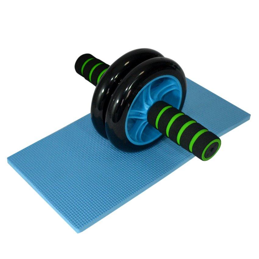 Dual Ab Wheel for Abdominal Roller Workout Exerciser - thumbnail