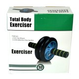 Dual Ab Wheel for Abdominal Roller Workout Exerciser - thumbnail 2