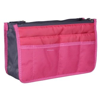 Dual Bag in Bag Organizer (Hot Pink)