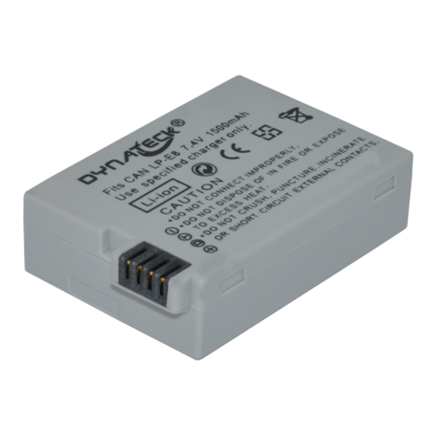 Dynateck Digital Camera Battery for Canon LP-E8 product preview, discount at cheapest price