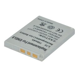 Dynateck Digital Camera Battery for Nikon EN-EL8 (White)