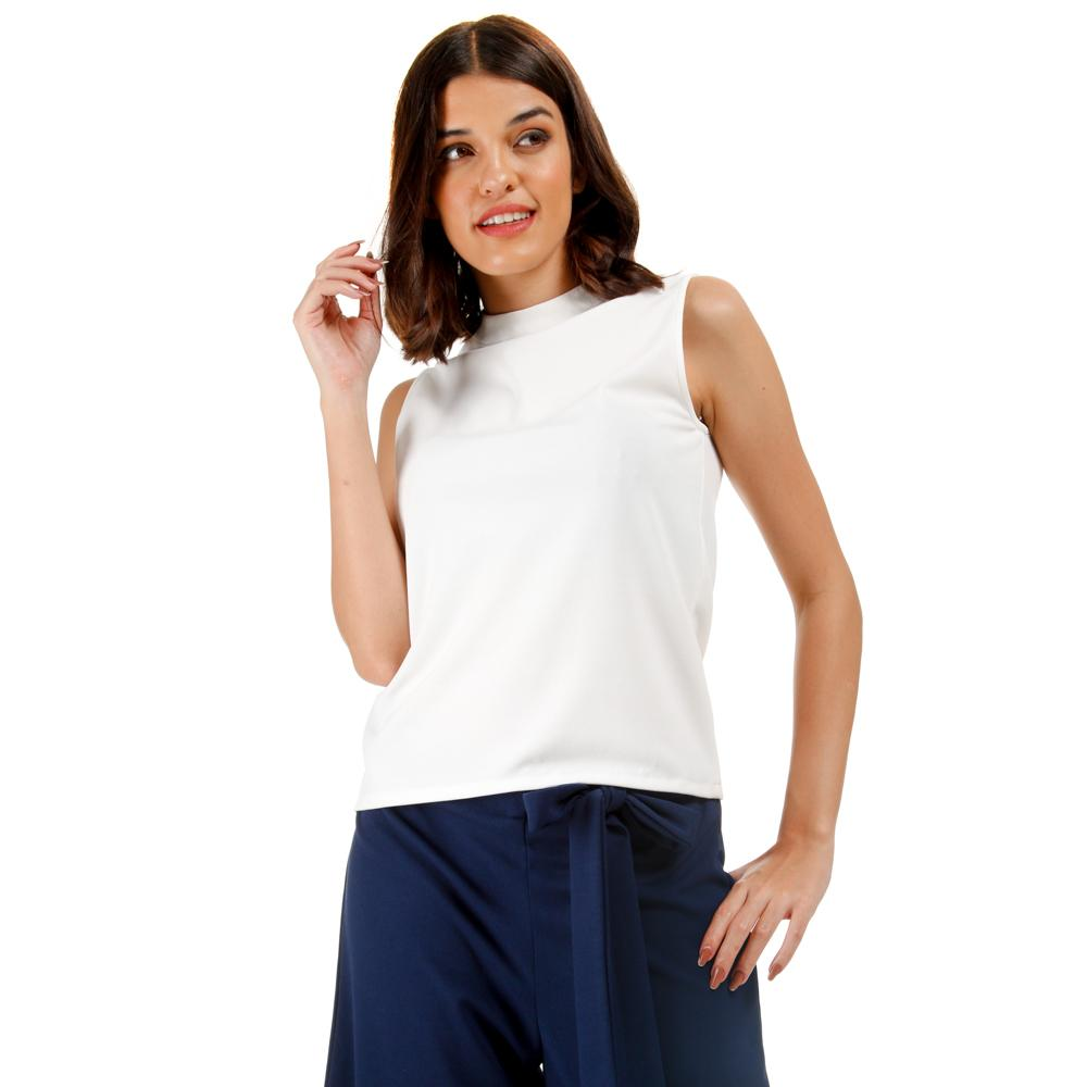 a138c1a6879 GTW Fab Girls Teens Sleeveless Top in White