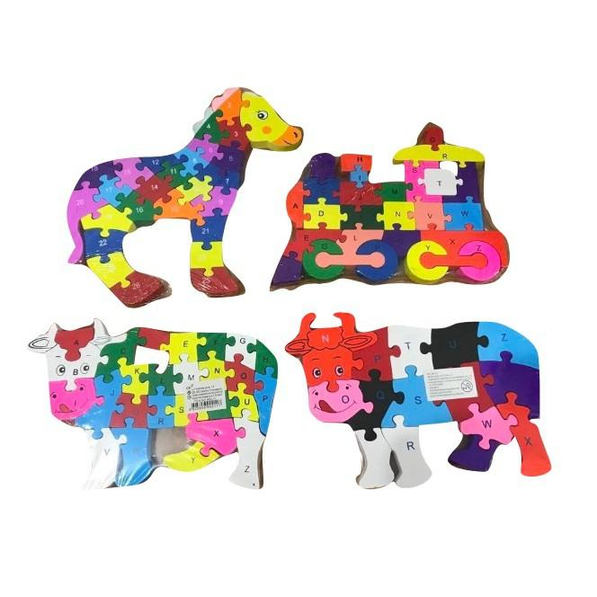 Je Wooden Puzzle By Little Je Shop.