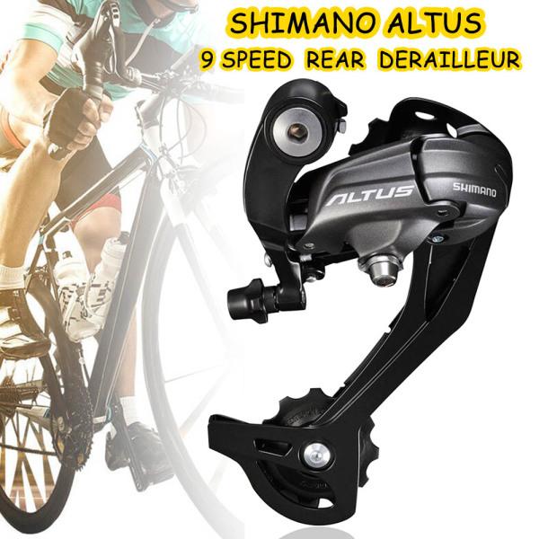 Mua Shimano Altus RD-M370 9/27 Tốc Độ Xe Đạp MTB Cùi Đề Sau (Đen)