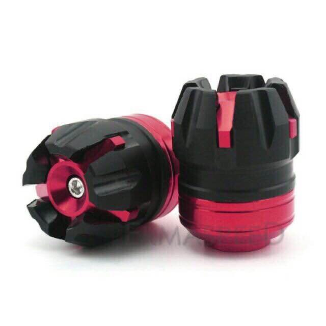 Motorcycle Axle Cap Big (red) By J2.racing.