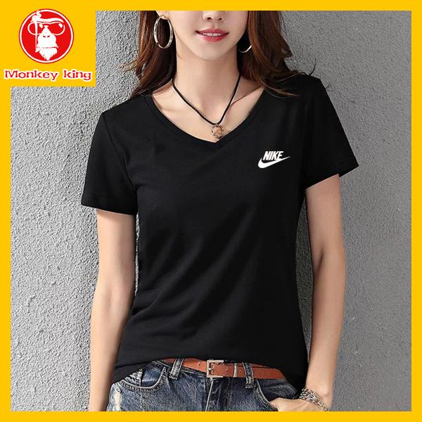 cf965c56db88c  Monkey King V neck T-shirt for Womens on sale Tees Tops Unisex