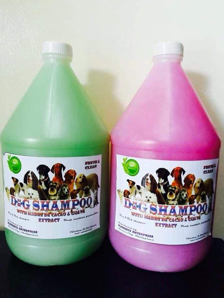 1 gallon madre de cacao dog & cat shampoo (baby powder scent)
