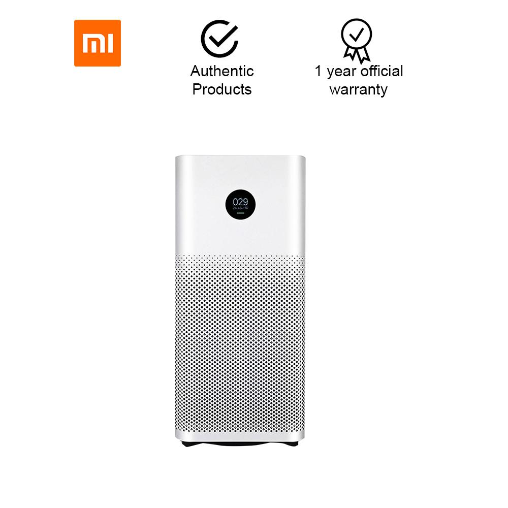 Xiaomi Mi Air Purifier 2S with Clear OLED Digital Display (White)  Smartphone App Control, Measures temperature and humidity has Air Quality  Monitoring
