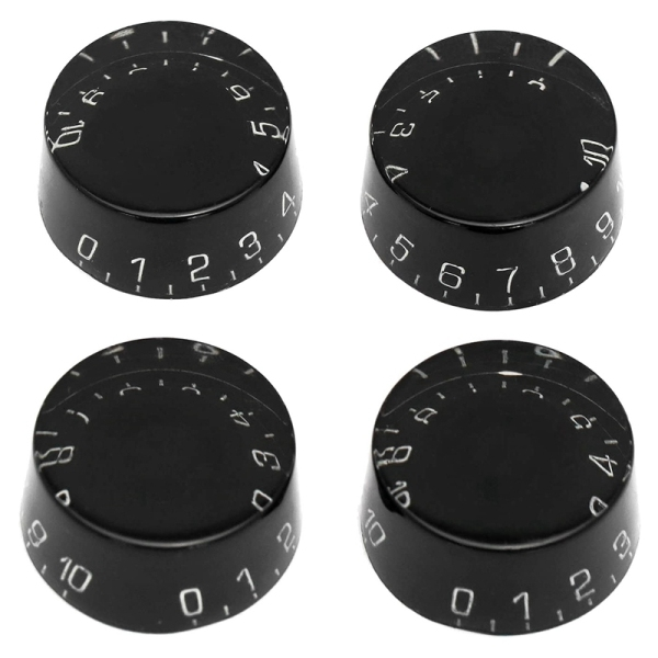 4Pcs Electric Guitar Top Hat Knobs Speed Volume Tone Control Knobs Compatible for Les Paul LP Style Guitar Malaysia