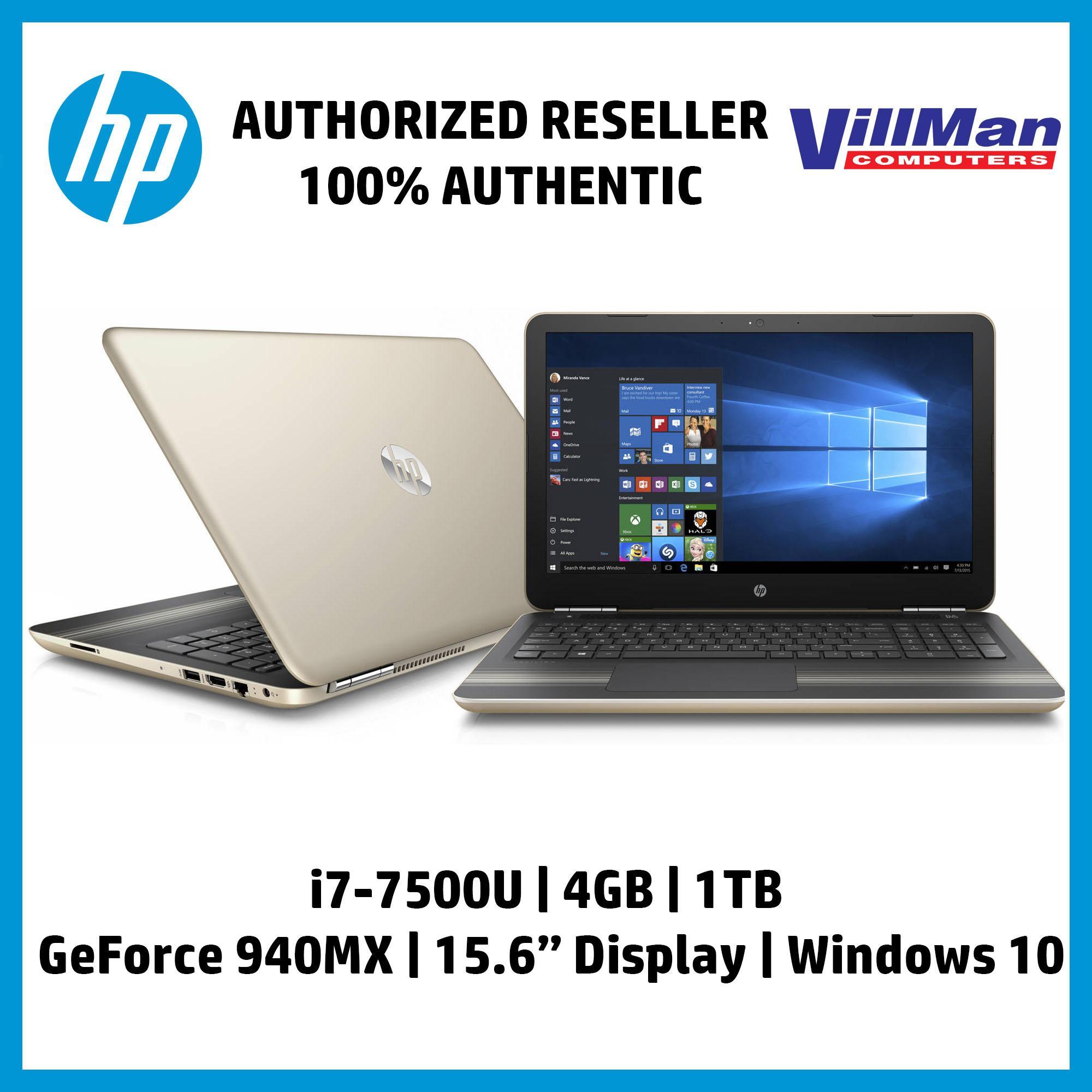 HP Pavilion 15-CC739TX 15 6-in Intel Core i7-7500U/4GB/1TB/4GB NVIDIA  GeForce 940MX/Windows 10 Gaming Laptop with Free HP Backpack