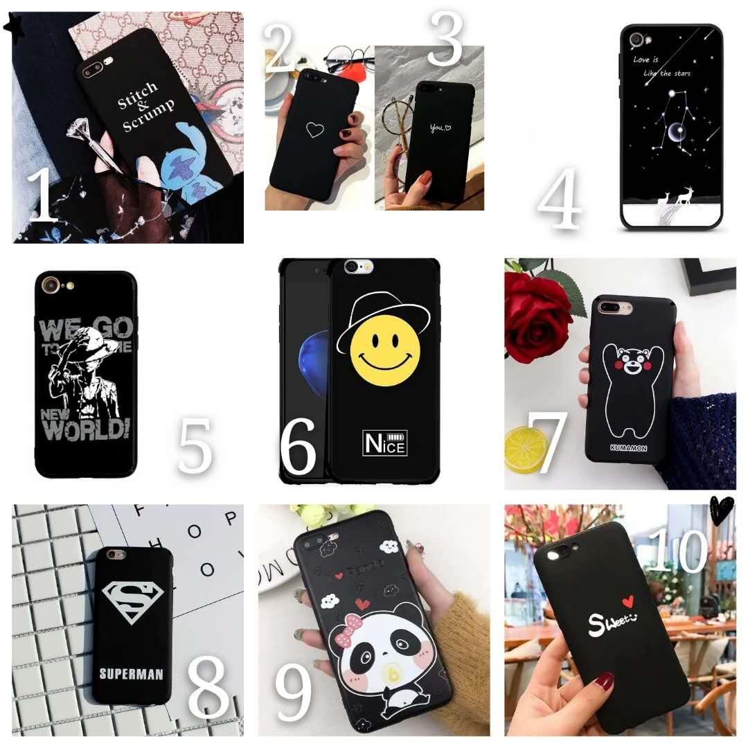 oppo a3s Painted slim TPU shockproof case